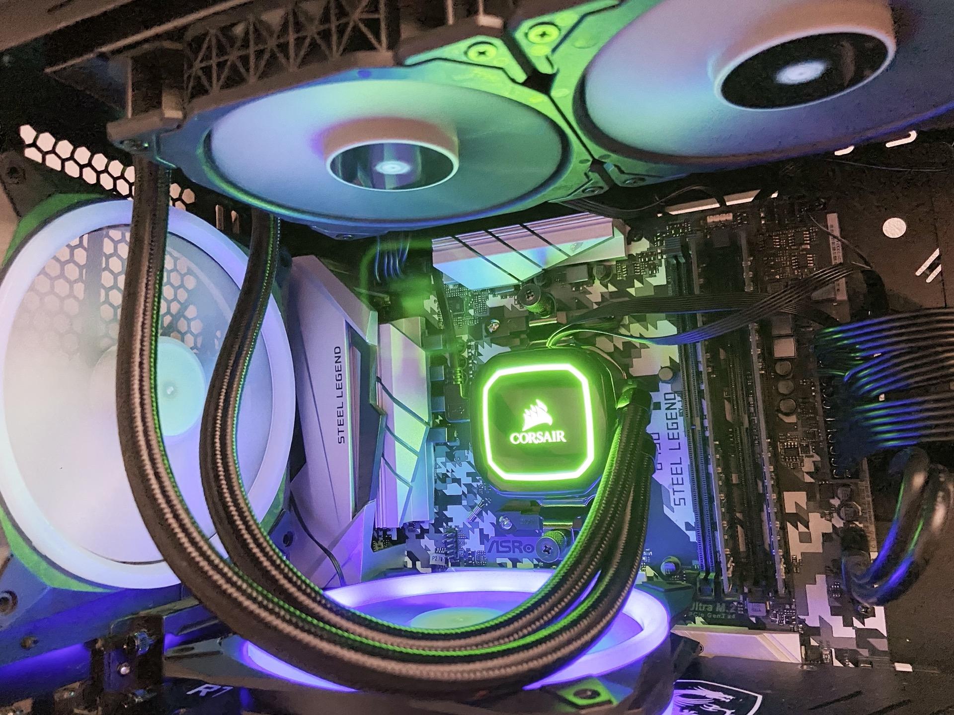 iCUE H150i RGB PRO XTのファームウェアを更新したらファンが制御できなくなった件